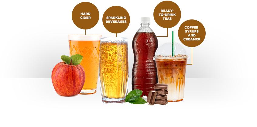 caramel-brown-assorted-drinks